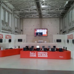 Photo taken at Zaragoza Activa by Laura C. on 10/24/2012