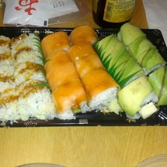 Photo taken at Sushi Bar Bazel (סושי בר בזל) by Moran B. on 10/20/2012