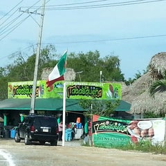 """Photo taken at Palapa """"La Tabasqueña"""" by Miguel S. on 10/21/2012"""