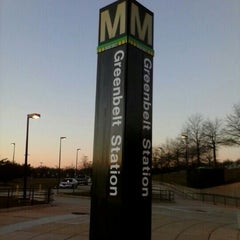 Photo taken at Greenbelt Metro Station by Sharon W. on 2/16/2013