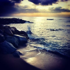 Photo taken at Platja del Prat by Rabasz ✪. on 9/21/2012