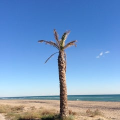 Photo taken at Platja del Prat by Rabasz ✪. on 12/5/2012