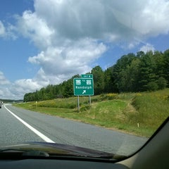 Photo taken at I-89 (Exit 4) by Led F. on 9/27/2013