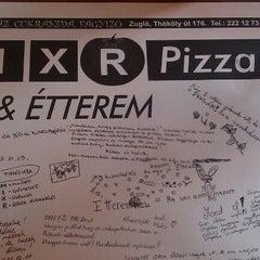 Photo taken at Mix-R Pizza & Étterem by Dora P. on 9/16/2012