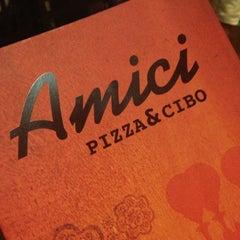 Photo taken at Amici Pizza & Cibo by Fabricio L. on 1/26/2013