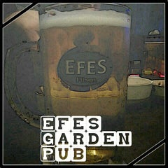 Photo taken at Efes Garden Pub by Selim A. on 1/5/2013