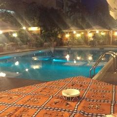 Photo taken at La piscine de l'Hotel Memling by Kurt N. on 10/12/2013