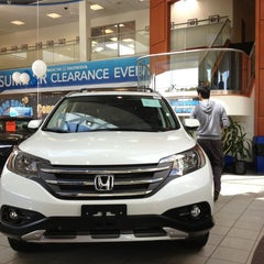 Photo taken at Boch Honda by Eric A. on 8/17/2013