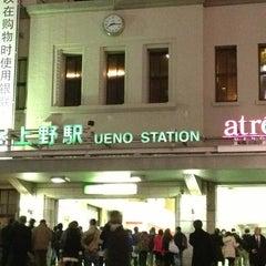 Photo taken at JR 上野駅 (Ueno Sta.) by Farah D. on 2/22/2013