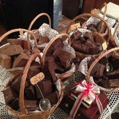 Photo taken at Львівська майстерня шоколаду / Lviv Handmade Chocolate by Svetlana U. on 1/3/2013