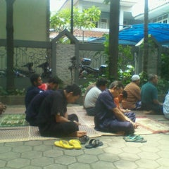 Photo taken at masjid al ibadah by Farry A. on 2/1/2013