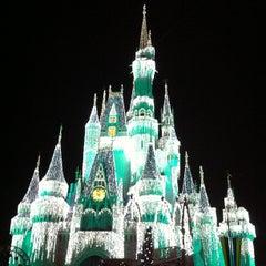 Photo taken at Cinderella Castle by artemisrex on 12/31/2012