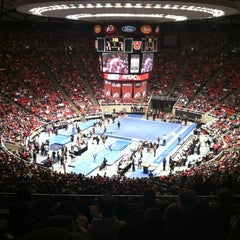 Photo taken at Jon M. Huntsman Center by Pace L. on 1/20/2013