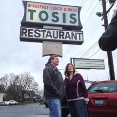 Photo taken at Tosis Restaurant by Nikko P. on 12/15/2012
