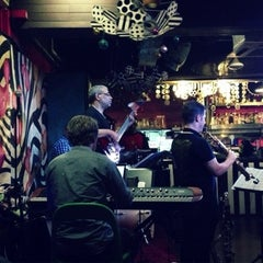 Photo taken at Blu Jaz Cafe by sonya s. on 6/28/2013