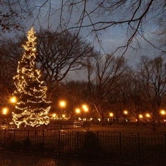 Photo taken at Tompkins Square Park by Lucy S. on 1/29/2013