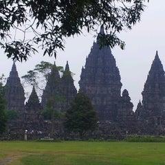 Photo taken at Candi Prambanan (Prambanan Temple) by Kips on 5/13/2013