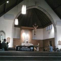 Photo taken at St. Martin of Tours Church by Catarina L. on 9/22/2012