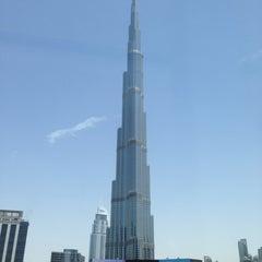 Photo taken at Burj Khalifa / Dubai Mall Metro Station محطة مترو برج خليفة / دبي مول by Amit G. on 5/3/2013