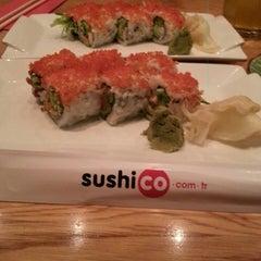Photo taken at SushiCo by Buket O. on 3/9/2013