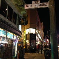 Photo taken at Jack Kerouac Alley by Gabriel A. on 4/10/2013