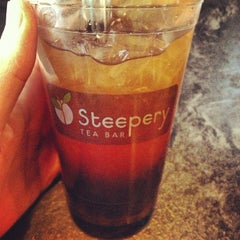 Photo taken at Steepery Tea Bar by Nico B. on 4/13/2013