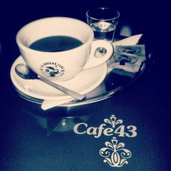 Photo taken at Cafe 43 by Hawkeye_ on 12/11/2013