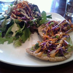 Photo taken at SunCafe Organic by Andy S. on 10/13/2012