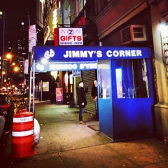 Photo taken at Jimmy's Corner by Thuymi D. on 2/28/2013