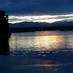 Photo taken at Sloan's Lake Park by Tone on 8/6/2013