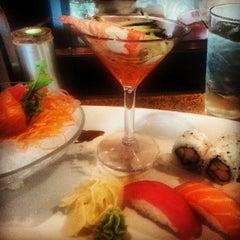 Photo taken at Sushi Siam by Kidsan B. on 7/25/2013