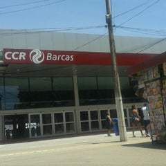 Photo taken at CCR Barcas - Estação Araribóia by @Maicon D. on 11/3/2013
