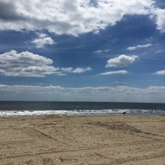 Photo taken at Rockaway Beach by Silvia D. on 8/15/2014