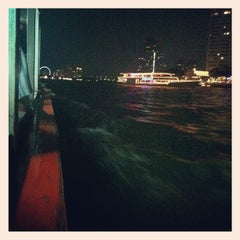 Photo taken at Chao Phraya River by Ly P. on 12/7/2012