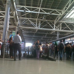 Photo taken at Terminal de Buses San Borja by Daniela Q. on 1/7/2013