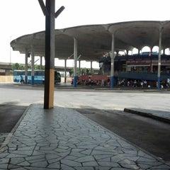 Photo taken at Estação Rodoviária de Porto Alegre by Prof.Deco S. on 1/5/2013