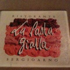 Photo taken at La Pasta Gialla by Lilian R. on 10/27/2012
