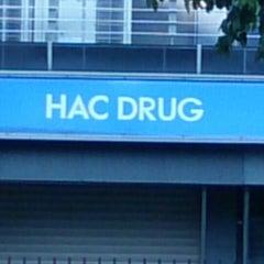 Photo taken at HAC DRUG 武蔵中原店 by あね on 6/4/2013