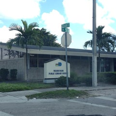 Photo taken at West Flager Branch Library - Miami-Dade Public Library System by Alex T. on 12/10/2013