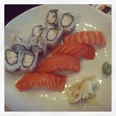 Photo taken at Sushi Dragon by Elizabeth M. on 10/14/2013