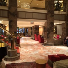 Photo taken at The Michelangelo Hotel by Jean P. on 10/27/2013