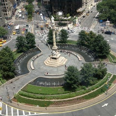Photo taken at Columbus Circle by Carla M. on 7/13/2013