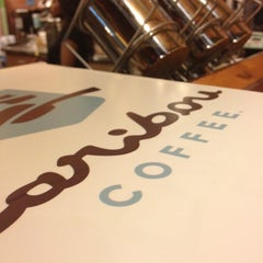 Photo taken at Caribou Coffee by Ange N. on 1/5/2013