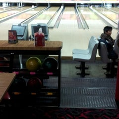Photo taken at Astoria Bowl by Lisa C. on 11/10/2012