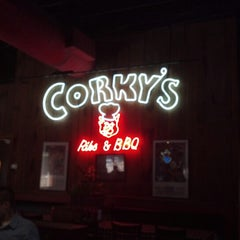 Photo taken at Corky's BBQ by Albi A. on 2/3/2013