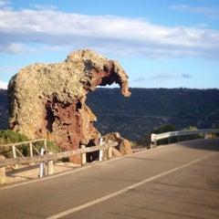 Photo taken at Roccia Dell'elefante by Alejandro M. on 10/7/2014