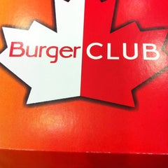 Photo taken at burgerclub by Serge K. on 10/10/2012