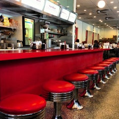 Photo taken at Majestic Diner by Mike W. on 5/18/2013