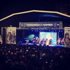 Photo taken at Terreirão do Samba by Francisco J. on 2/2/2013
