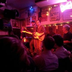 Photo taken at Ain't Nothin But...The Blues Bar by Angus T. on 1/16/2013
